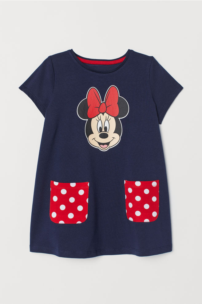 ... Jersey dress - Dark blue Minnie Mouse - Kids  eaa07a1aa