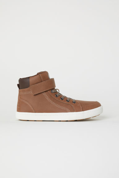 Hi-top trainers - Brown - Kids | H&M CN