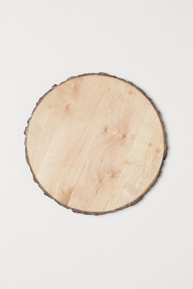 Wooden Cutting Board - Light beige - Home All | H&M US