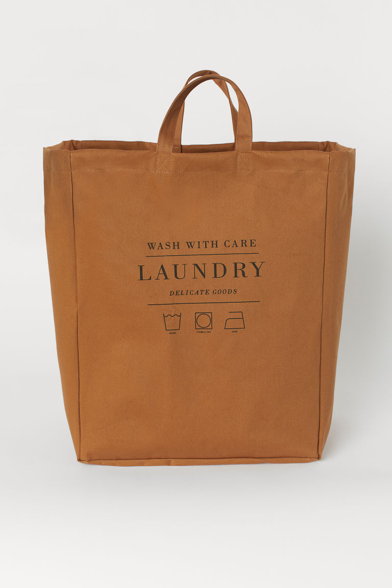 Laundry bag - Light brown - Home All | H&M GB