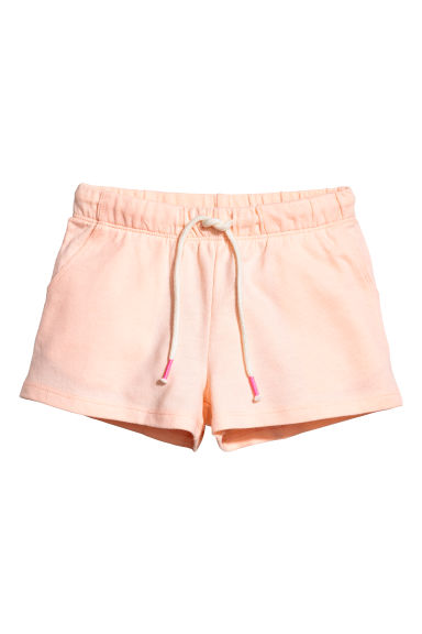 Tricot short - Abrikoos -  | H&M BE
