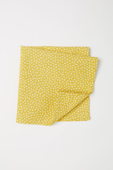 Cotton Napkin - Yellow/dotted - Home All | H&M US