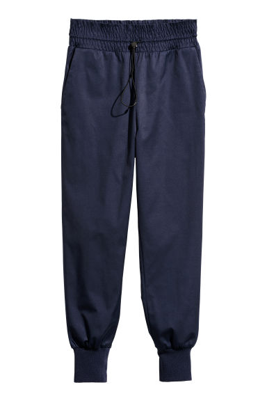 Petite joggers - Dark blue - Ladies | H&M CN