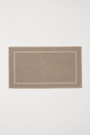 Grand tapis de bain - Taupe - Home All | H&M FR