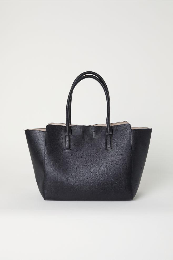 2860c3f928ec3 Torba shopper - Czarny - ONA | H&M ...