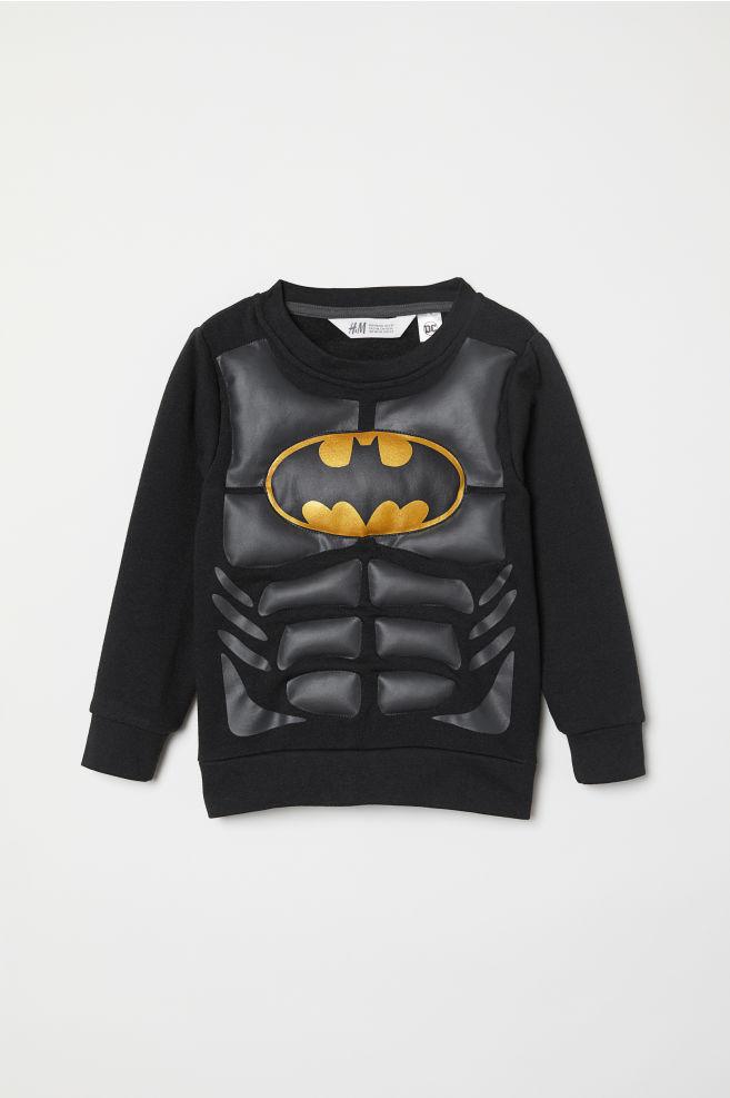 Jelmezfelső - Fekete Batman - GYEREK  d030ac7e13