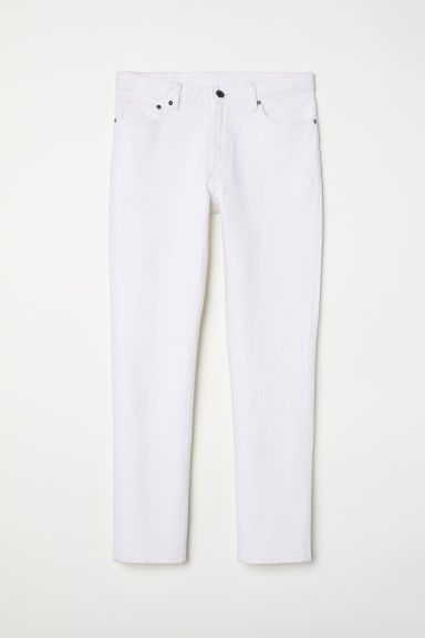 Slim Jeans - White - Men | H&M IN