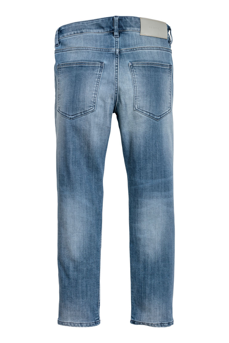 Skinny fit Lined Jeans - Denim blue - Kids | H&M CN