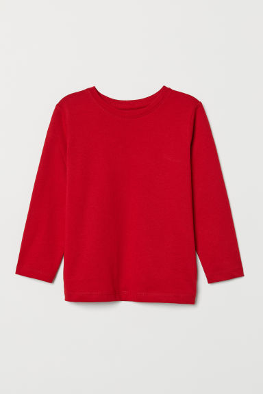 Jersey top - Red - Kids | H&M