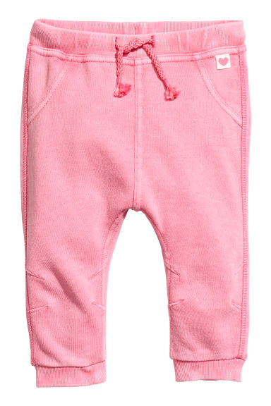Joggers tipo biker - Rosa washed out - BAMBINO | H&M CH
