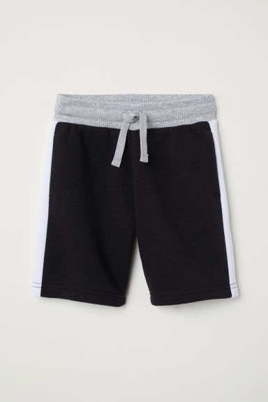 Sweatshirt shorts - Black - Kids | H&M CN