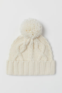 1a95cef7fdf Cable-knit hat