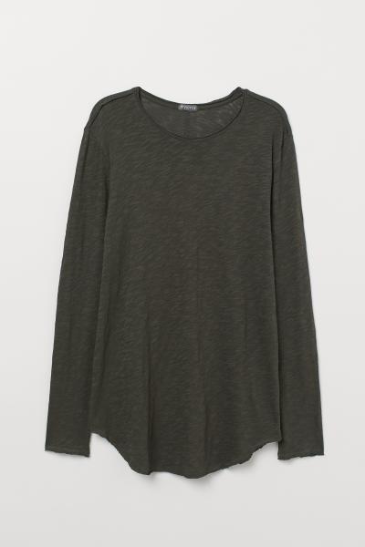 H&M - T-shirt long en jersey - 5
