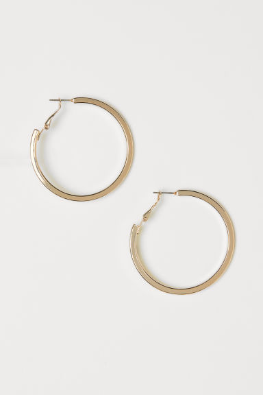 Hoop Earrings - Gold-colored -  | H&M US
