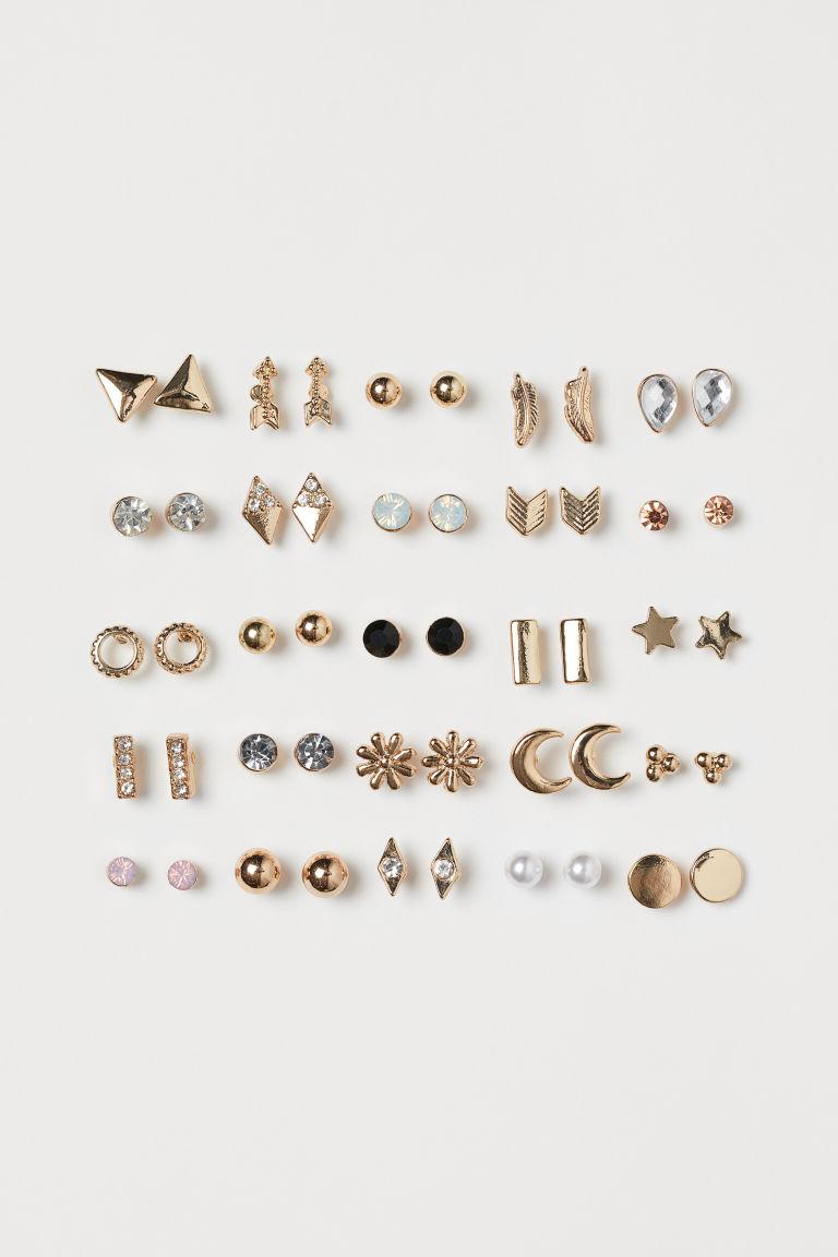 25 Pairs Stud Earrings