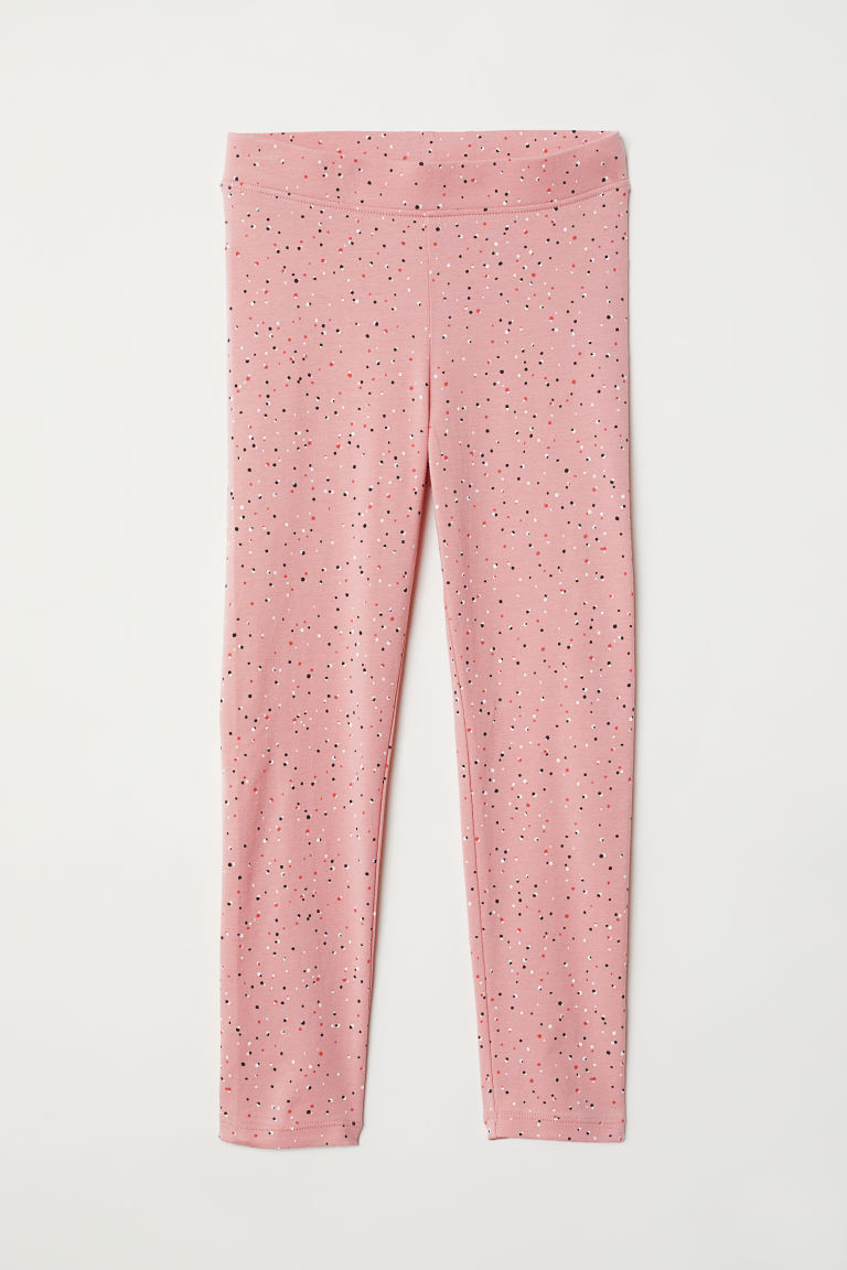 Leggings fantasia - Rosa/pois - BAMBINO | H&M IT