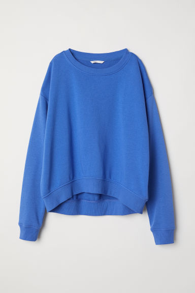 Sweatshirt - Blue -  | H&M