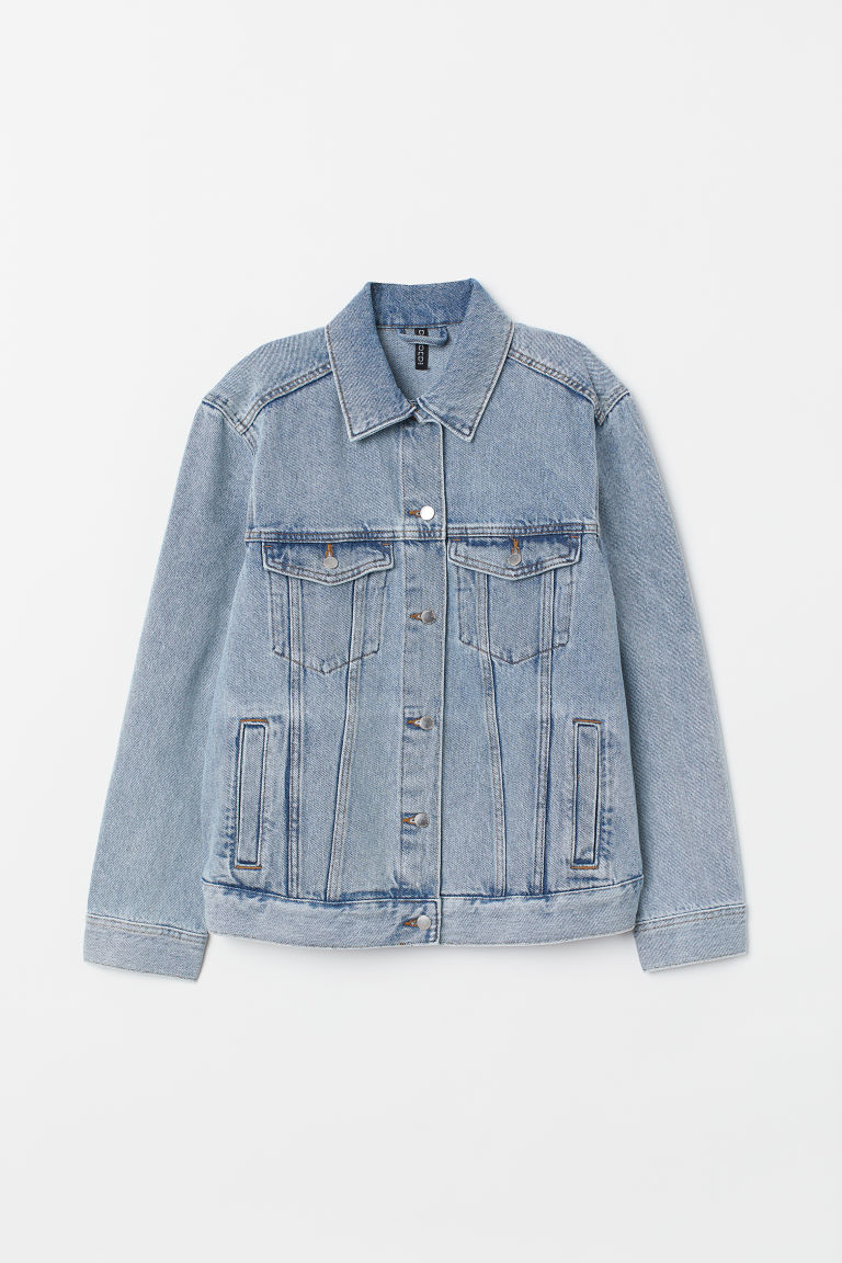 Veste en denim - Bleu denim clair -  | H&M CA