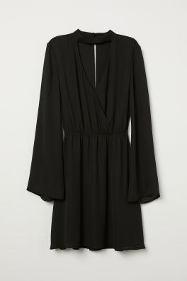 6f902138dd Kopertowa sukienka w serek