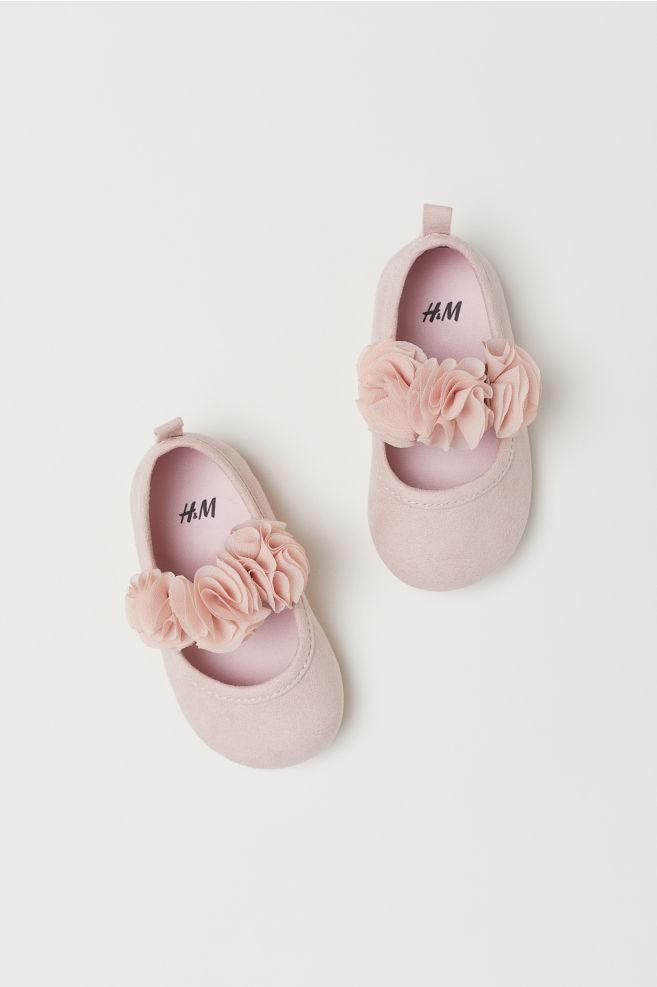 edceea2c8e89a Ballerines - Vieux rose - ENFANT