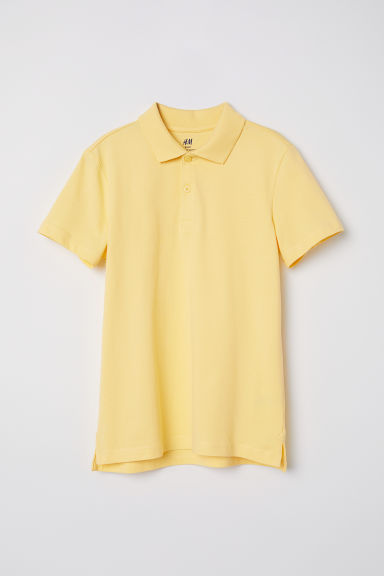 Polo shirt - Yellow -  | H&M