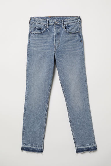 Slim Mom Jeans - Blu denim chiaro - DONNA | H&M IT