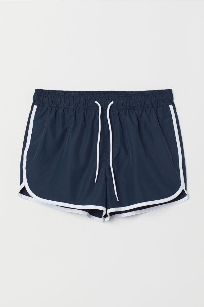 dfc4350ee8 ... Short Swim Shorts - Dark blue - Men | H&M ...