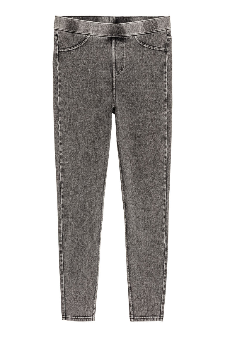 Jersey leggings - Dark grey - Ladies | H&M GB