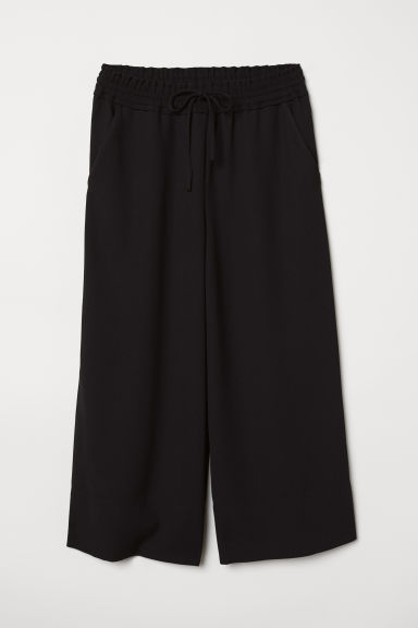 Ankle-length Pants - Black - Ladies | H&M CA