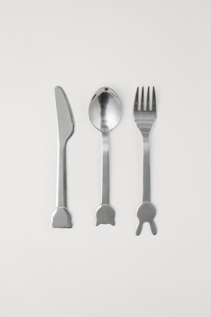 3-piece cutlery set