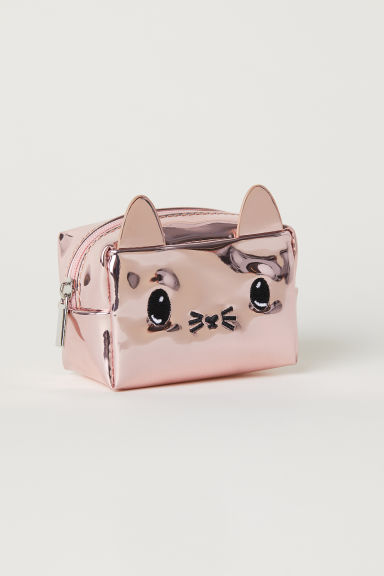 Mini pouch - Rose gold-coloured/Metallic -  | H&M
