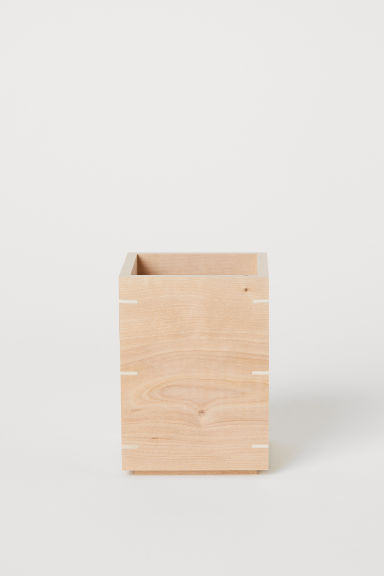 Wooden Storage Box - Beige/birch - Home All | H&M US