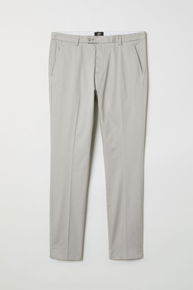 Suit trousers Skinny Fit - Light grey - Men | H&M