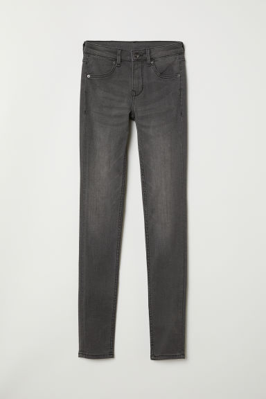Pantaloni superstretch - Grigio scuro -  | H&M IT
