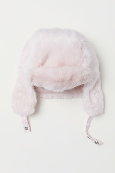 Hat with earflaps - Light pink - Kids | H&M