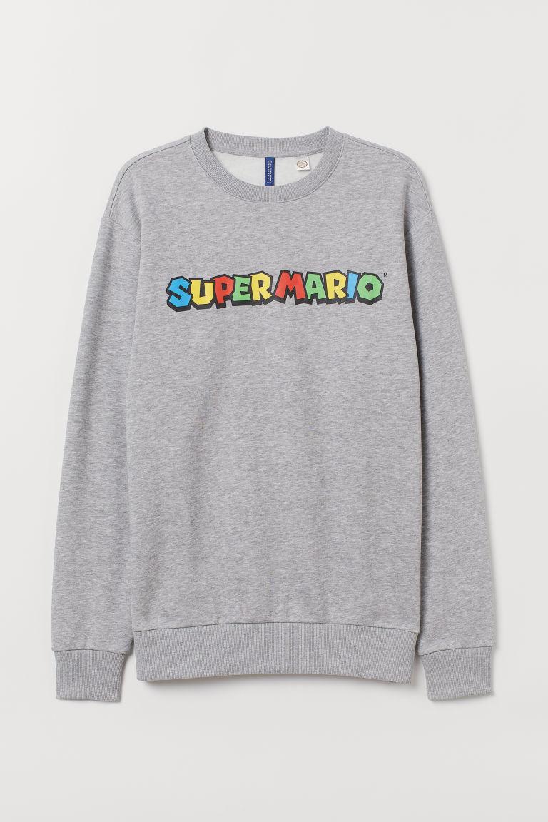Sweatshirt mit Druck
