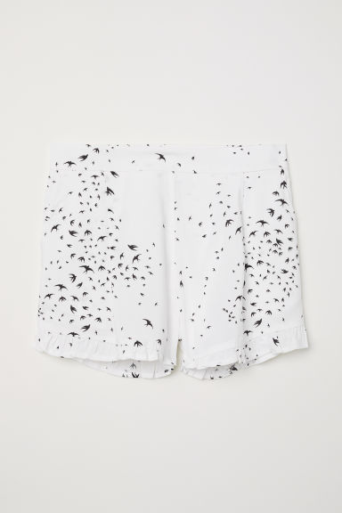 Shorts fantasia - Bianco/rondini -  | H&M IT