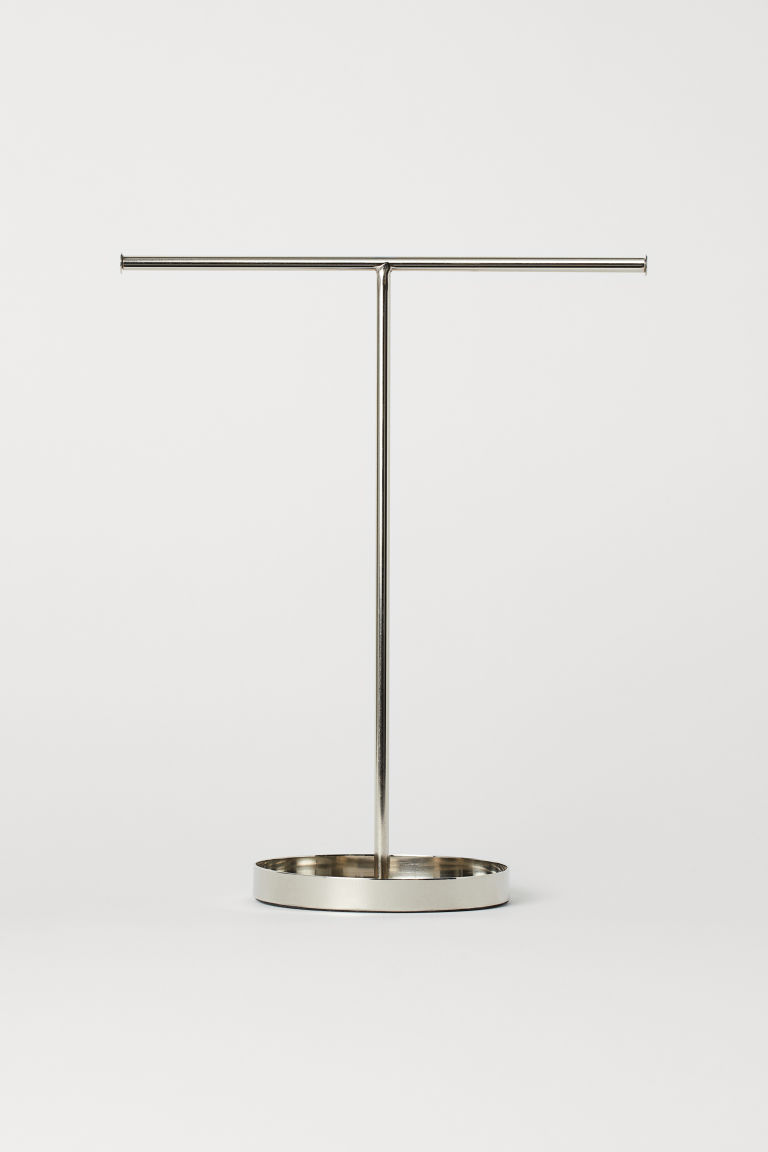Metal jewellery stand - Silver-coloured - Home All | H&M CN