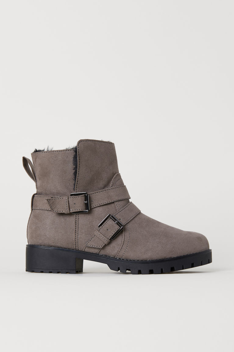 Biker Boots - Taupe - Ladies | H&M US
