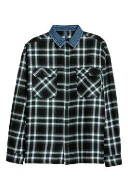 Zwart Overhemd We.Overhemden H M Nl