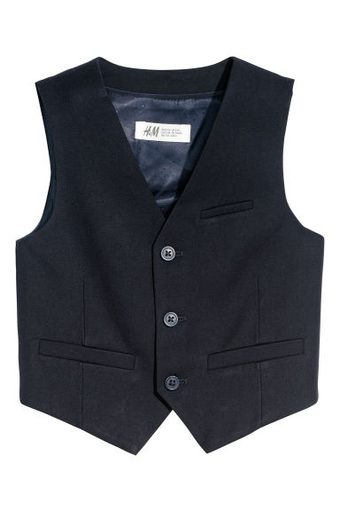 Gilet da completo - Blu scuro -  | H&M IT