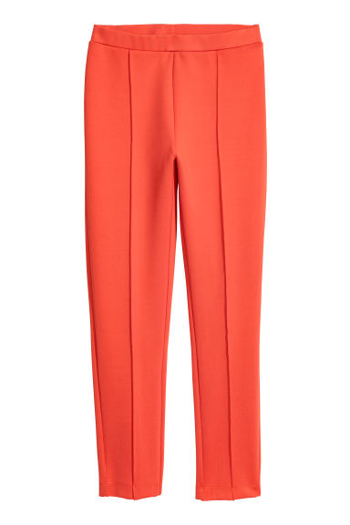 Leggings with a sheen - Orange - Ladies | H&M