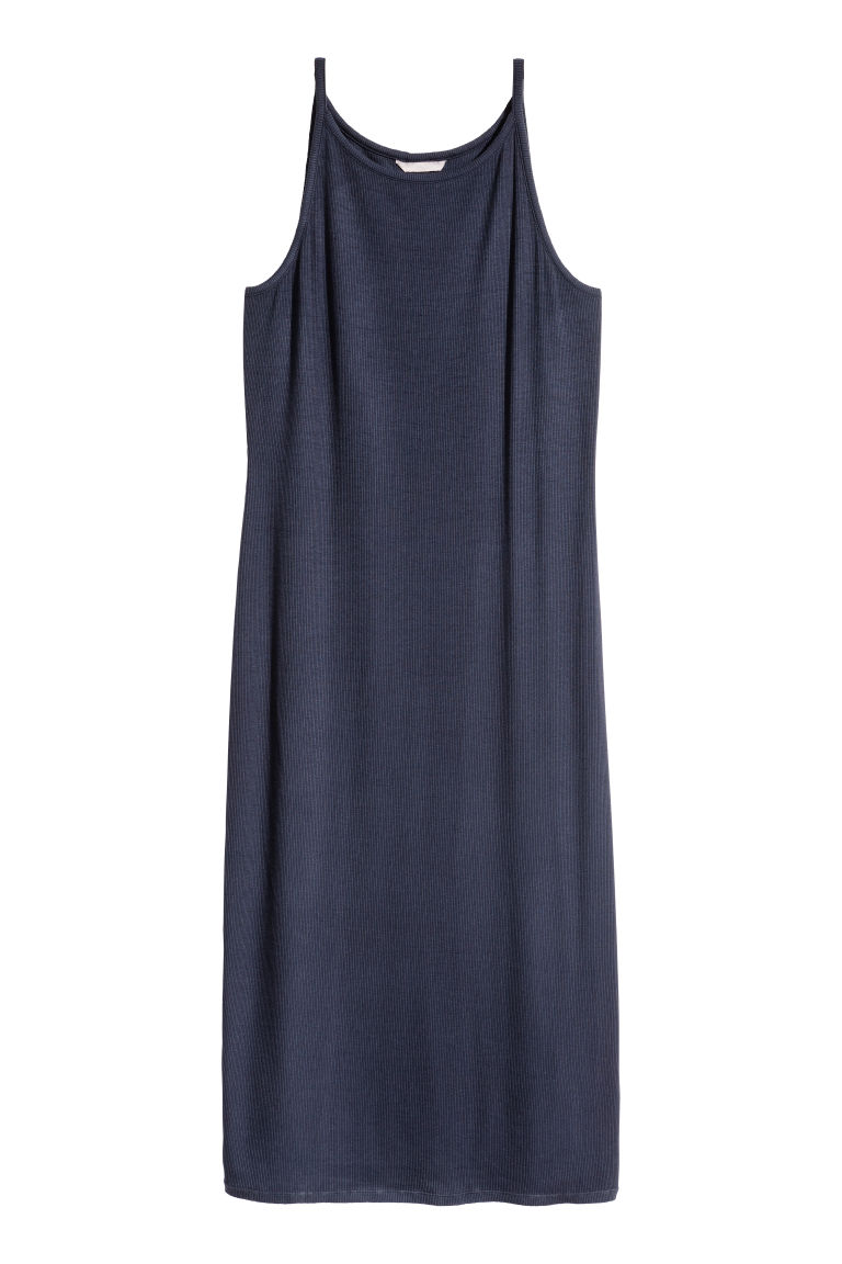 H&M+ Abito in jersey - Blu scuro - DONNA | H&M IT