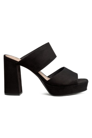 Mules - Black - Ladies | H&M IE