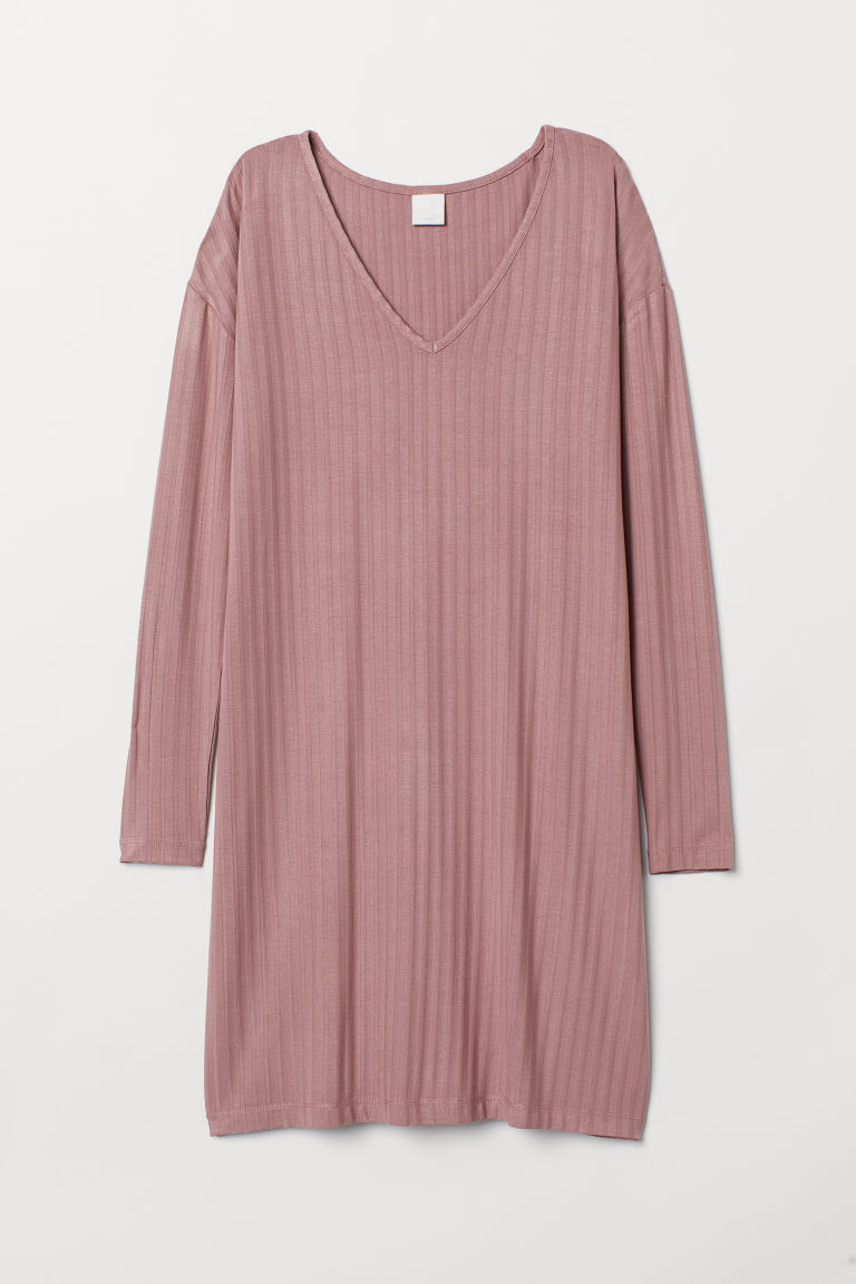 Abito a coste - Rosa vintage - DONNA | H&M IT