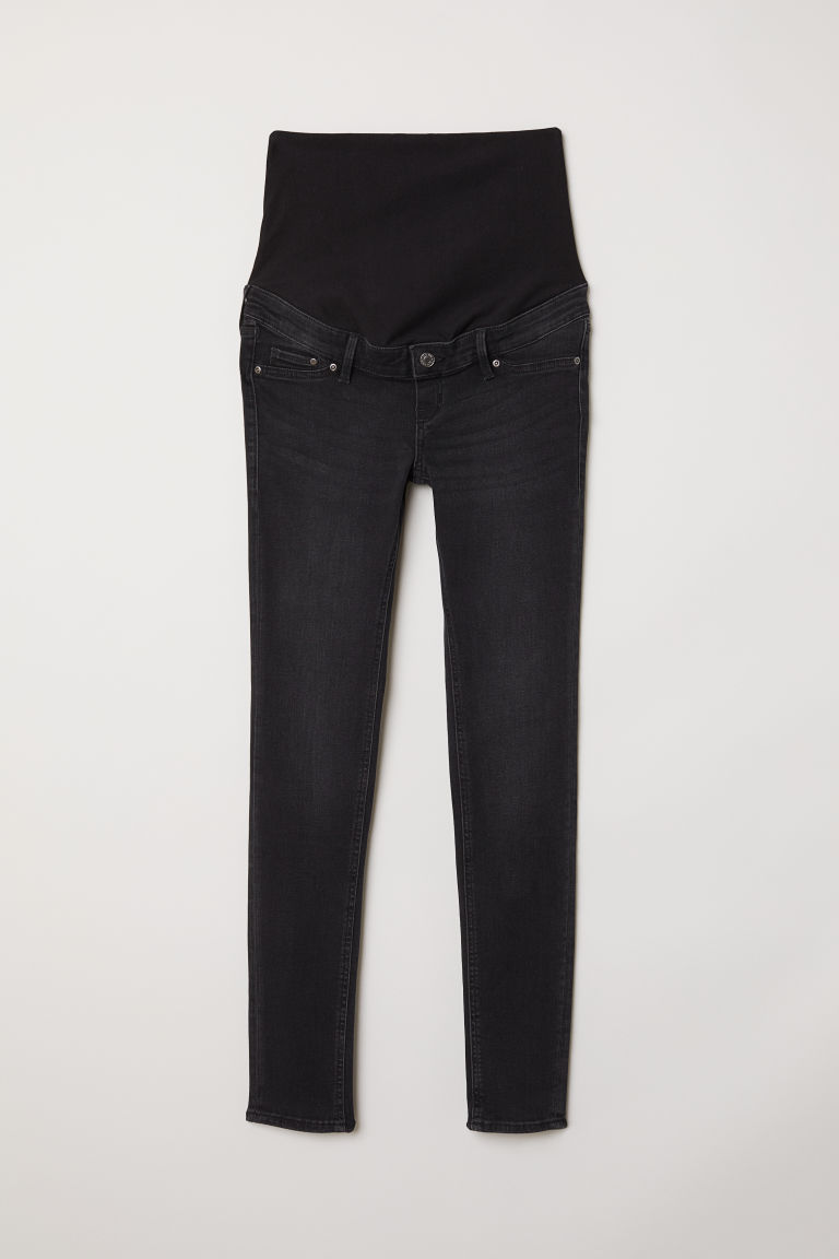 MAMA Skinny Jeans - Nearly black - Ladies | H&M GB