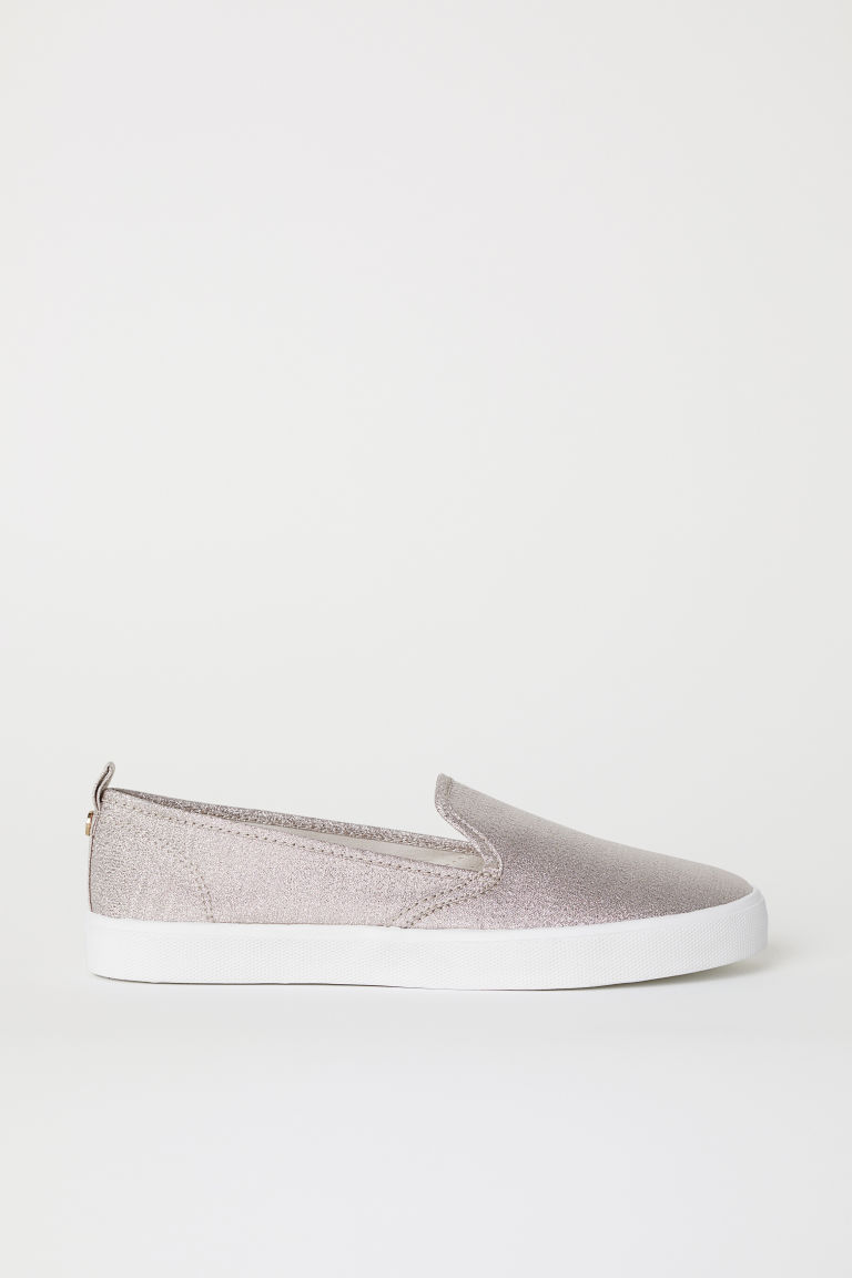 Slip-on trainers - Rose gold-coloured - Ladies | H&M