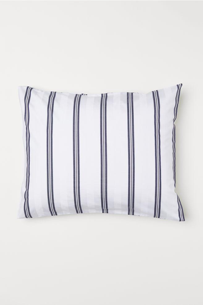 1bed5c43 Putevar i bomull - Hvit/Blå stripet - Home All | H&M ...
