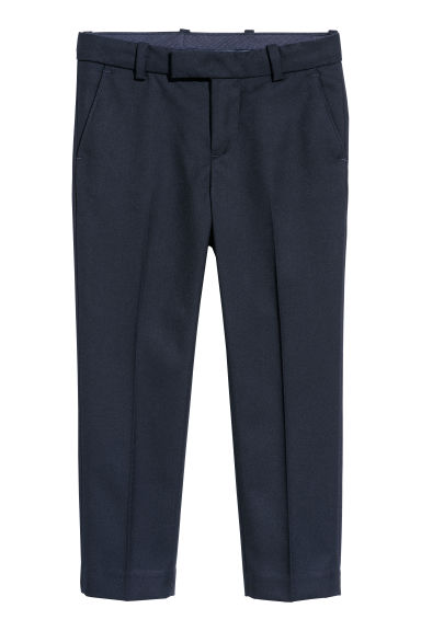 Suit trousers - Dark blue - Kids | H&M CN