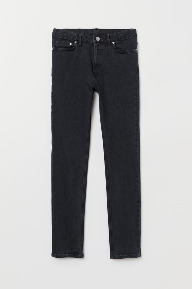 Slim Jeans - Donkerblauw - HEREN | H&M BE